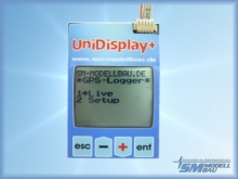 SM Modellbau UniDisplay+ komplett mit Anschlusskabel