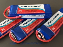 Leomotion LiPo  4300mAh  2s1p 30C - by Fullymax