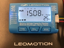 Leomotion LiPo Checker, Balancer und Servotester