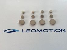 Leomotion Scheibenmagnet  Ø5x5mm (4 Stk.)