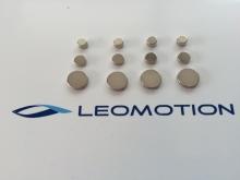 Leomotion Scheibenmagnet  Ø5x3mm (4 Stk.)