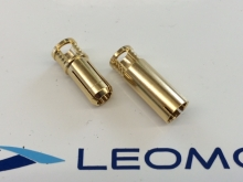 Supra X Connector 5mm, 1 Stecker-Paar