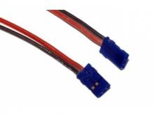 Akkuanschlusskabel JR 6A, 20cm, 0.5mm² (2 Stück)