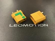 4.5mm Stecker/Buchsen Set vergoldet mit Verpolungsschutz und Antiblitz (XT 90-S)