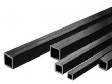 CFK Vierkantrohr  4x4mm, 1m