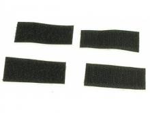 Klett selbstklebend, 25x35mm , schwarz (2 stück)