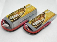 Leomotion LiPo  1600mAh 2s1p 70C  - by Fullymax