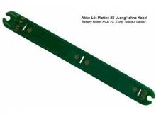 EMCOTEC 2S Long Akku-Montageplatine