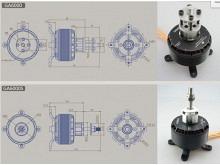 LEO 8025-0160 F3X (V2) / Dualsky GA6000.9 (V2)
