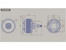 LEO 6015-0400 (V2) / Dualsky GA2000.4 (V2)