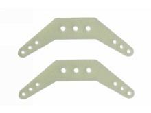 Graupner Ruderhorn doppelt, GFK, 100mm (2 Stück)