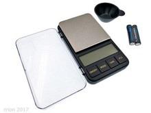 Digital Waage, handliche mit Plexiglasdecke - max. 1kg (0.1g)
