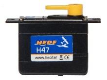 Servo H47 - 1.2 kg*cm HV (Ersatz für D47, FS31)