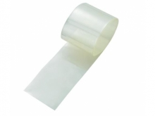 Schrumpfschlauch 2:1, transparent  37mm flach / Ø24mm (1 Laufmeter)