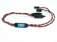 BEC - JETI V-Cable- 12A Akkuweiche ohne Spannungsregler JR