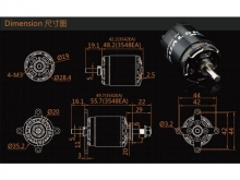 LEO 2826-0740 V3 / Dualsky XM3548EA3-10