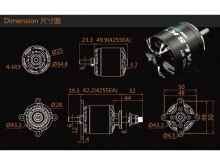 LEO 3525-0620 V3 / Dualsky XM4255EA3-10