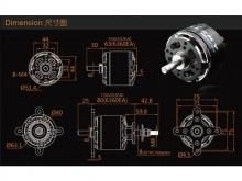 LEO 5030-0190 V3 / Dualsky XM6360EA3-22
