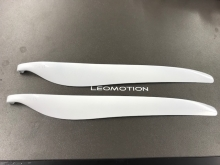Leomotion Carbon Propeller 22.0 x 14.0 Scale (8mm) - weiss