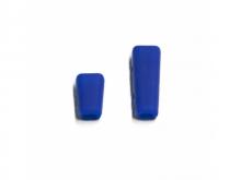 JETI Schalterkappen - blau (1x kurz, 1x lang)
