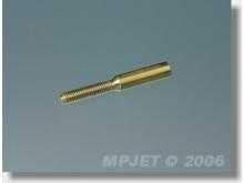 MP JET Gewindebuchse M2.5, Anschluss Ø2.0mm (10 Stück)