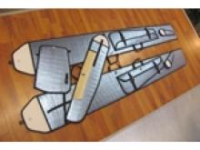 Tangent ASH 31 Mi ARF (450cm)  -  pull-over Flügeltaschen-Set