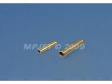Quetschhülse Messing Ø1.0mm (10 Stk)