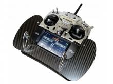 AHL Carbon Senderpult für Futaba T16SZ & T18SZ (Bügel klappbar)