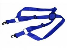 Kreuzgurt für Senderpult, blau