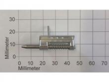 Kabinenhaubenverschluss 3mm, L=26mm, Alu