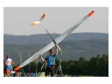 Baudis DNAracer Full Carbon - Rumpf mit Leitwerk RTF