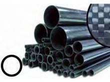 CFK Rohr gerollt  5/4mm, 1m
