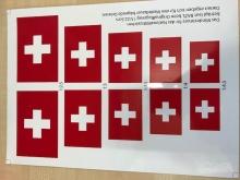 Schweizerkreuz - BAZL Hoheitszeichen (1 Bogen)