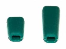 JETI Schalterkappen - grün (1x kurz, 1x lang)