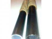 Flügelsteckung Hartpapier/Alu - Ø16mm, 1m