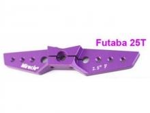 Futaba Servo Doppel-Arm 64mm gerade, Alu eloxiert - by Miracle