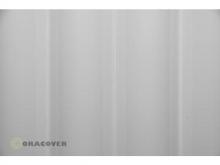Oracover Bügelfolie, weiss - Rolle 60cm x 2m