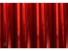 Oracover Bügelfolie, transparent rot - Rolle 60cm x 2m