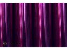 Oracover Bügelfolie, transparent violett - Rolle 60cm x 2m