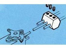 Gestängeanschluss, Doppel-Anschluss, 1.5 - 2mm (1 Stück)