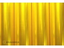Oralight Bügelfolie, transparent gelb - Rolle 60cm x  10m