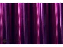 Oralight Bügelfolie, transparent violett - Rolle 60cm x  10m