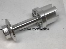 Leomotion LEO L80xx V2 Prop Adapter, Alu, lang - M14 Zentralmutter
