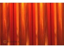 Oracover Bügelfolie, transparent orange - Rolle 60cm x 2m