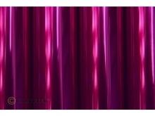 Oracover Bügelfolie, transparent magenta - Rolle 60cm x 2m