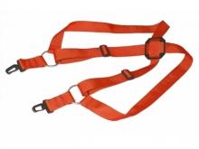 Kreuzgurt für Senderpult, rot