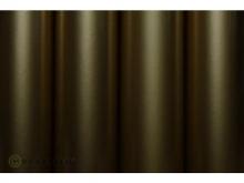 Oracover Bügelfolie, gold - Rolle 60cm x 2m