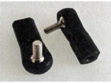 Kugelkopfanschluss M3.0, KugelØ 6mm/Schaft M3 (2 Stück)