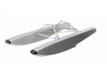 Hangar 9 Schwimmerset für 1:5 Scale Modelle (bis max. 5.9kg)