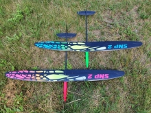 SNIPE 2  UHM LIGHT (1490mm) spec. Design pink - Ready to Fly